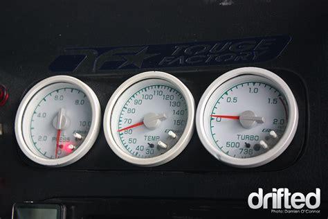 act greddy temp water press boostx2 gauges