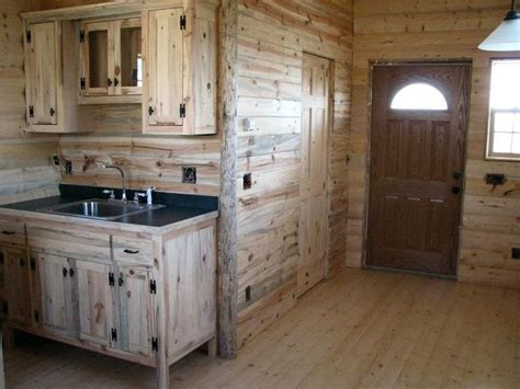Pine Kitchen Furniture 17 Best Ideas About Small Cabin Interiors On Small Cabins Small Cabin Designs And