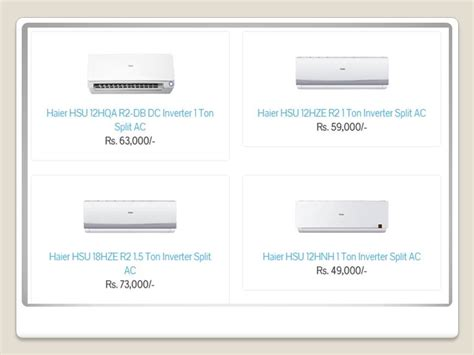 Ac Wc Per Ton dc inverter ac price in pakistan 2018 gree haier