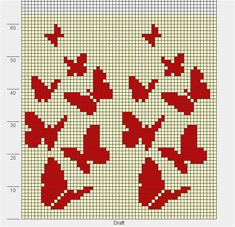 knitting charts and motifs vlinders dwarelend motif crochet knitting