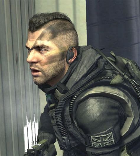 john soap mactavish warhawk hairstyle from call of duty