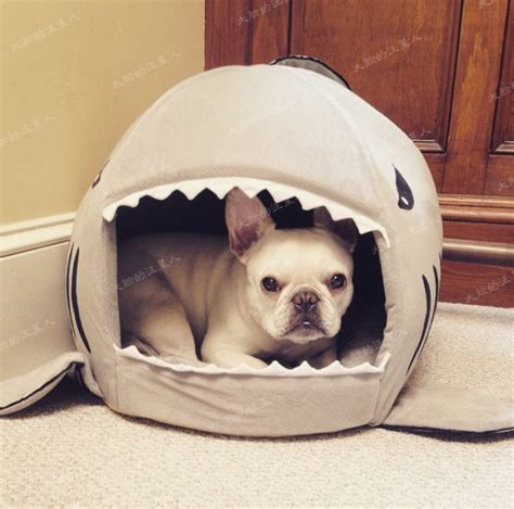 shark bed for dogs shape of shark cat house dog beds mats warm house winter