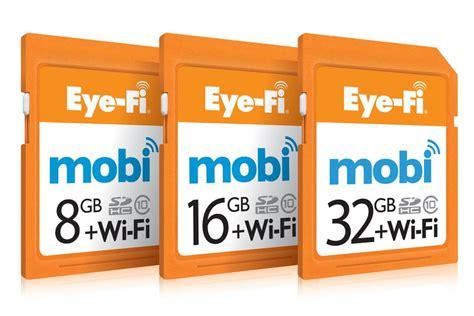 Eye Fi Memory Card Eye Fi Adds Windows Desktop Support For Mobi Wireless Sd