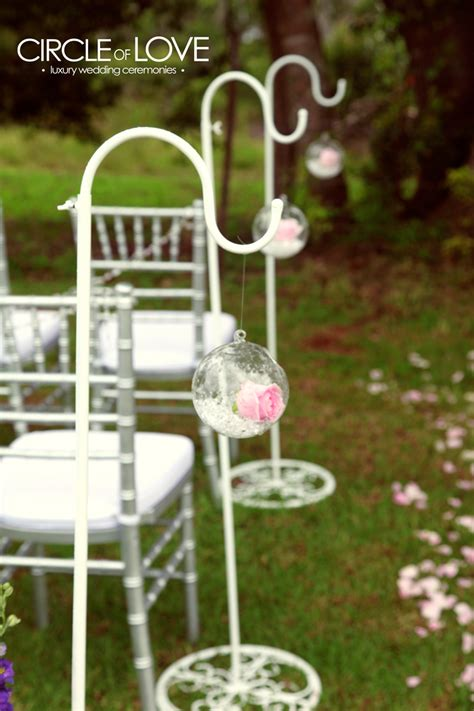 Wedding Aisle Shepherd Hooks by Gallery