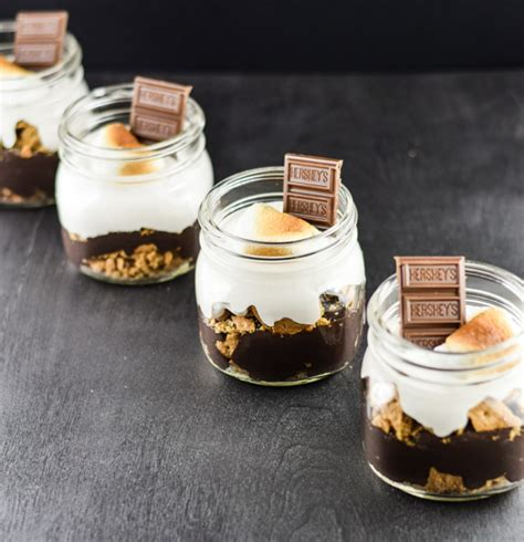 Rach Choco Jar s mores in jars cooks
