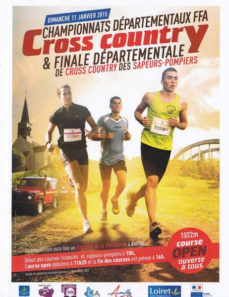 Cross Country Flyer Template