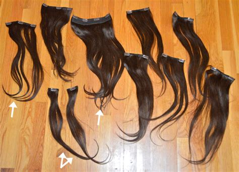 how to put hair clip extensions in how to subtly put in hair extensions before after