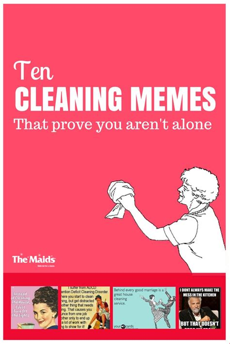 Housekeeping Meme - cleaning memes and like u on pinterest