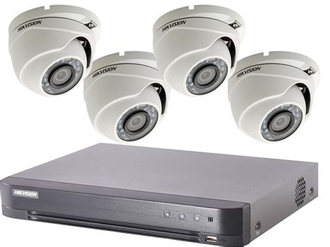 Cctv Hikvision 4 hikvision tvi cctv system 1080p hd with poc dvr