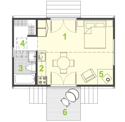 400 square foot house floor plans tiny house kit by zamore homes
