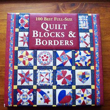 quilting reference books quilting book quilt blocks borders from ocdbooks on etsy