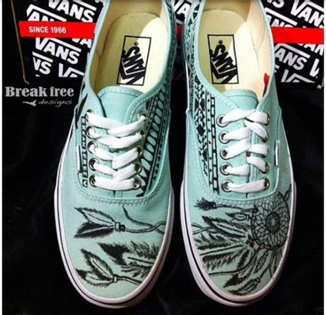 tribal pattern vans shoes vans dreamcatcher tribal pattern wheretoget