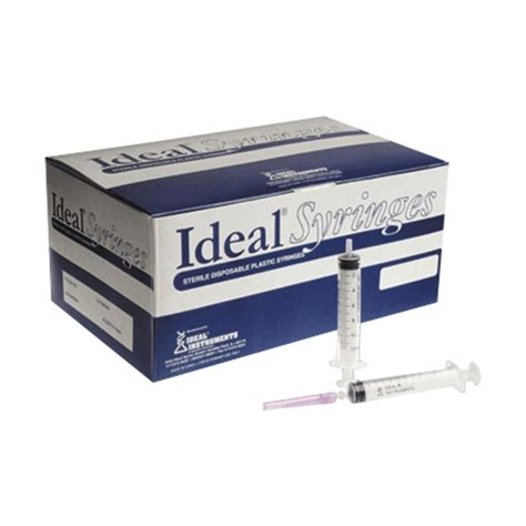 Disposable Needle ideal 174 disposable syringe with needle leedstone