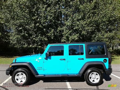 jeep wrangler unlimited sport blue 2017 jeep wrangler unlimited sport 4x4 in chief blue