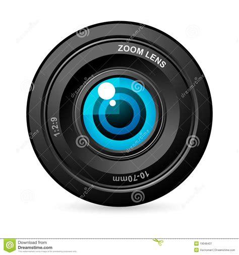 len occhio eye in lens royalty free stock photography image