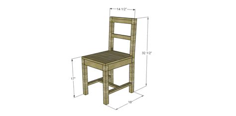 simple wooden chair plans build simple wood desk