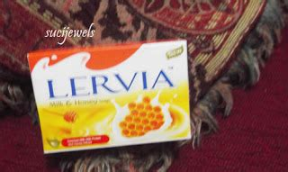 Sabun Lervia review lervia honey milk soap sucijewels