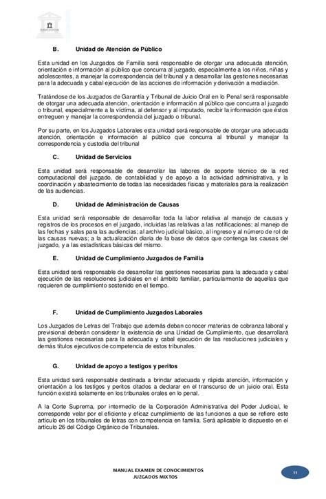 carta formal juzgado manual examen habilitante comun