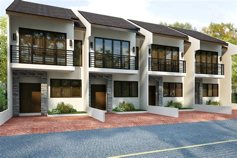 townhome designs philippine townhouse interior design inc house plans
