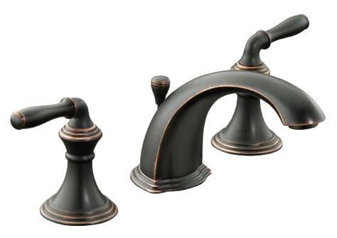 kohler rubbed bronze widespread faucet widespread