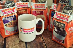 Coffee Dunkin Donuts giveaway win a dunkin donuts bakery series prize pack