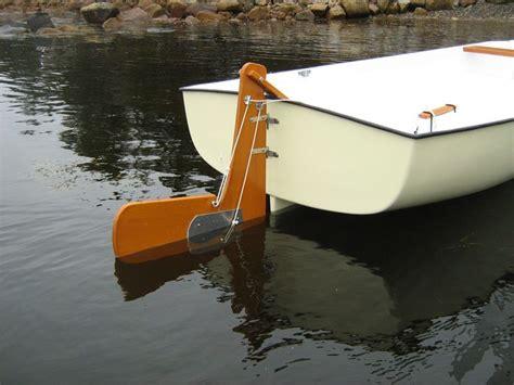 small boat rudder sailboat rudder design most common modified sailboat