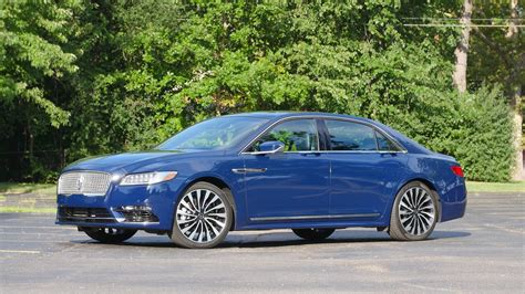 Lincoln Continental Review by 2017 Lincoln Continental Review Feels Like Real Luxury