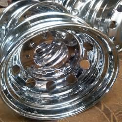Dish Chrome Truck Wheels Chrome Dish Wheel Rims Buy Blue Chrome Rims