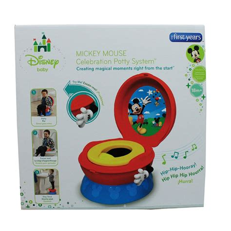 Disney Potty Mickey Mouse Uk 95 The Years Disney Mickey Mouse 3 In 1 Potty System