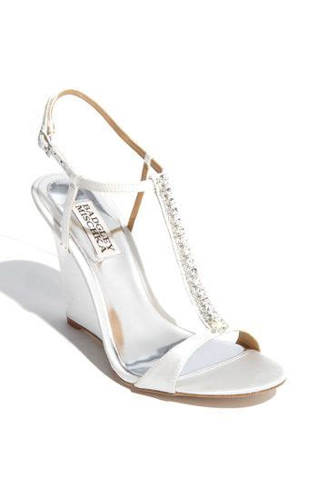 bridal sinking 25 best ideas about wedge wedding shoes on
