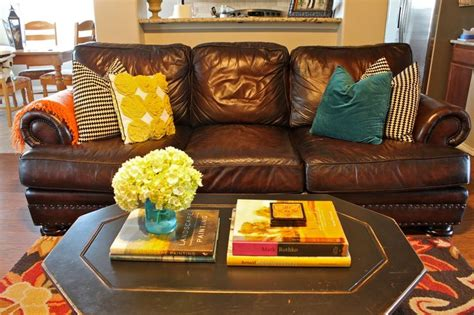 how do you clean leather couches best 25 yellow and brown ideas on pinterest