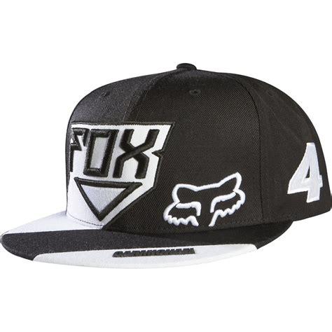 fox motocross hats fox racing ricky carmichael snapback hat