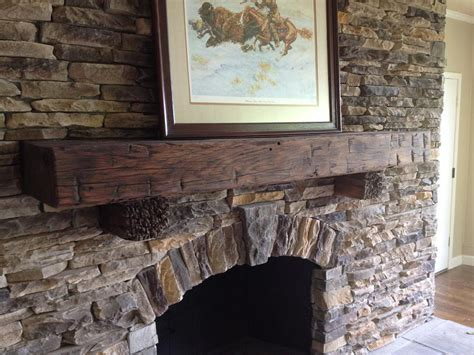 wood beam mantle quotes