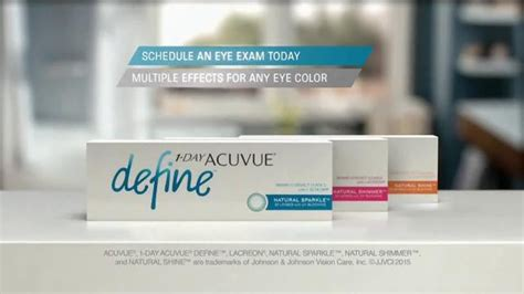 Air Optix And Day 1461 by 1 Day Acuvue Define Brand Contact Lenses Tv Spot Enhance