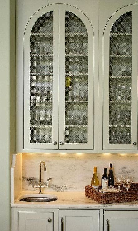 wire mesh inserts for cabinets gray butler pantry cabinets with metal mesh doors