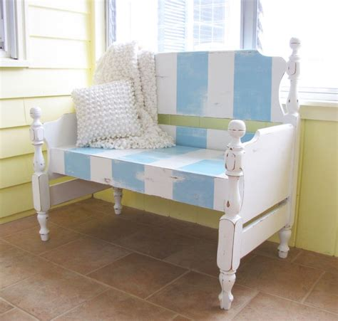 twin bed bench the 144 best images about bench settee from a bed on