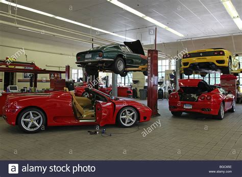 expensive exclusive cars in a garage porsche
