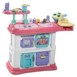 pink argyle kitchen playset