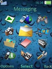 Sony Ericsson W660 K660 Bahan k660 themes free drops theme for sony ericsson k660