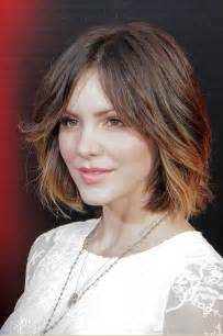 bob haircuts with center part bangs 6 fun to wear hairstyles for this season