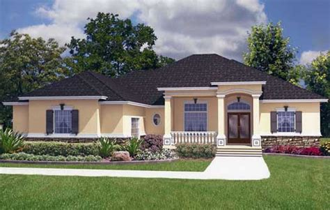 florida style home plans florida house plan 5 bedrooms 4 bath 3454 sq ft plan