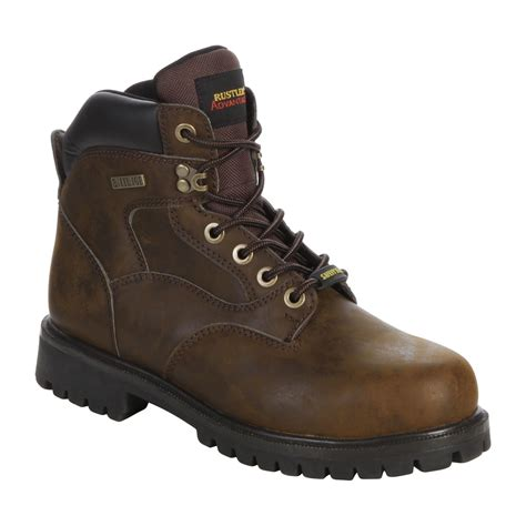 s steel toe work boot get rugged support from kmart