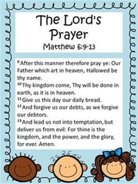 printable version of the lord s prayer 1000 images about my tpt store on pinterest writing