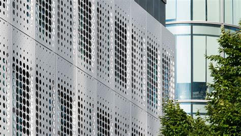 Honeycomb Home Design by Perforated Metal Perforated Metal Mesh Cladding Proteus