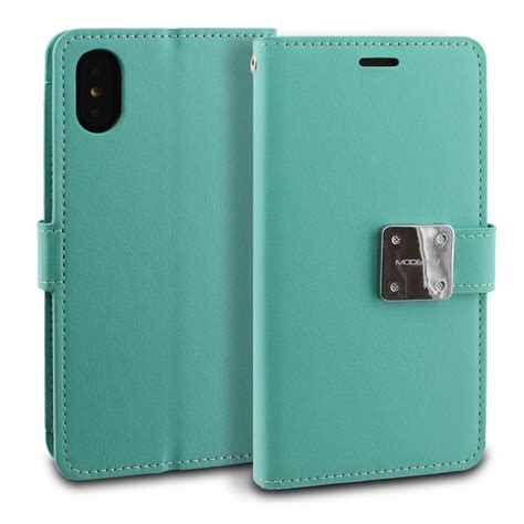 iphone x xs modeblu mode diary mint retail packed