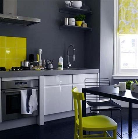 Yellow And Grey Kitchen by 20 Awesome Color Schemes For A Modern Kitchen