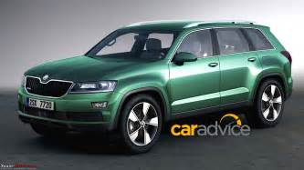new suv cars india skoda to bring new 7 seater flagship suv to india team bhp