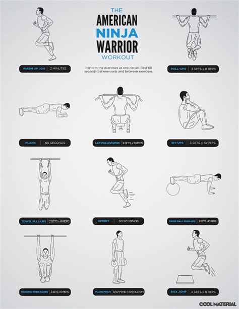the american warrior workout cool material