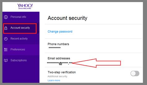 yahoo email phone number how to check my alternate email address in yahoo email