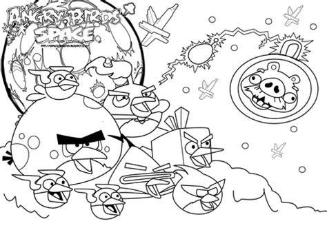 Angry Bird Space Coloring Pages angry birds space coloring pages gt gt disney coloring pages